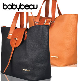 BabyBeau leather changing bags are timeless!
