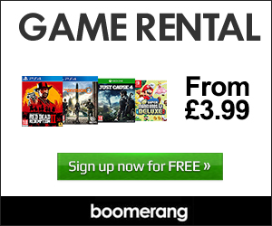 Boomerrang Game Rentals - Click here for free trial!
