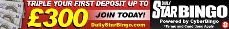 Daily Star Bingo - Click here!