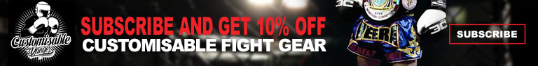 Subscribe at Danger Boxing and Get 10% Off