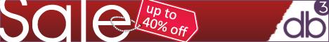 db3 Online 40% Sale