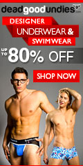 Mens designer underwear & swimwear at Dead Good Undies