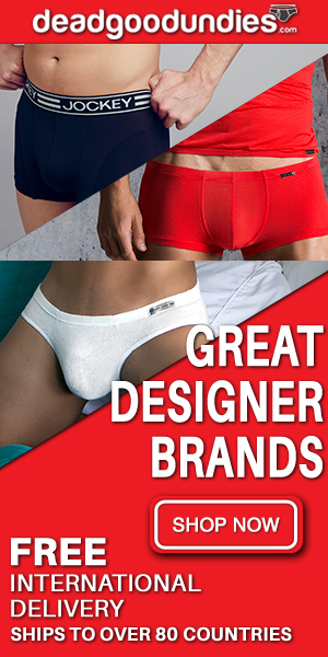Designers Mens underwear & swimwear at Dead Good Undies