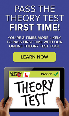 pass the theory test first time