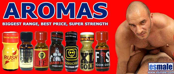 Buy Aromas, Poppers & Room Odourisers at ES Male Gay Shop