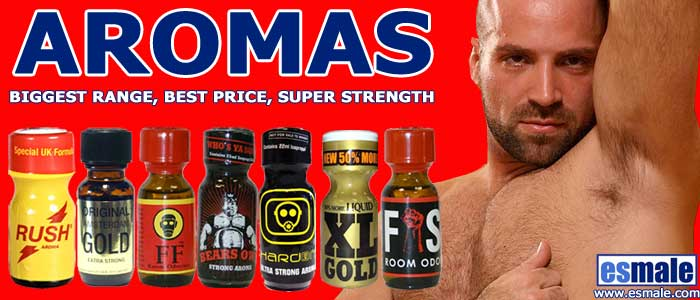 Aromas at ES Male Gay Shop