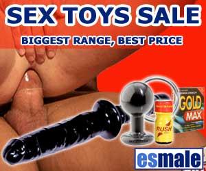 UK anal sex toys