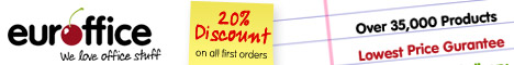15% off First Order at Euroffice, Click Here!