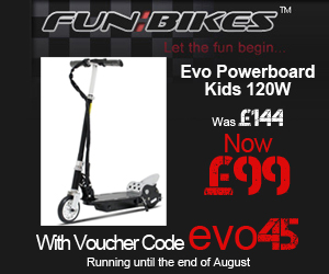 UK Bikes Online store Fun Bikes