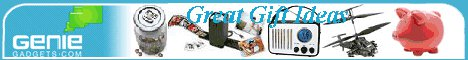 Great gift ideas from Genie Gadgets