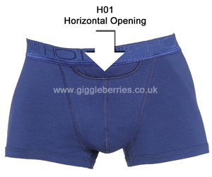 Illustration of H01 horizontal opening