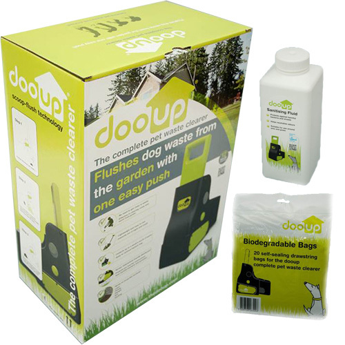 dooup Starter Pack with free self-sealing bags and sanitiser