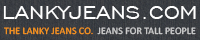 Tall and slim designer jeans - The Lanky Jeans Co.