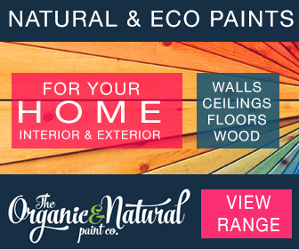 View our range of natural and organic paints for your home