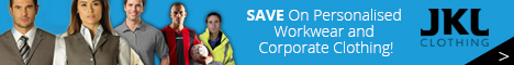 JKL Clothing -  Save On Personalised Workwear and Corporate Clothing