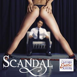 Scandal Be Naughty by Cal Exotics Beautiful Bondage Toys