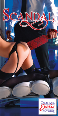 Scandal Be Naughty by Cal Exotics Beautiful Bondage Toys