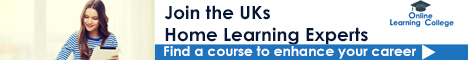 The Online Learning College offers a range of home study courses to students in the UK and overseas