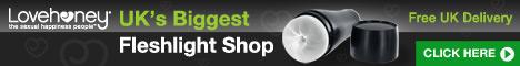 Free UK delivery on Fleshlights