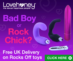 Rocks Off Toys - bad boy or rock chick