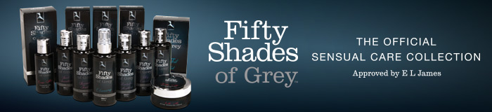 New! Fifty Shades of Grey Sensual Care Collection