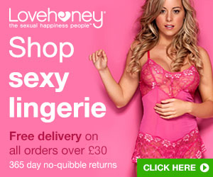 Shop Erotic Lingerie with our 365 day no-quibble returns