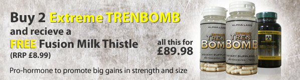 Maximum Sports Nutrition Trenbomb Offer