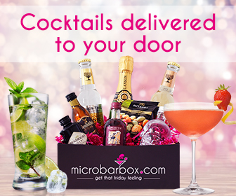Cocktails delivered to your door Ad