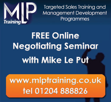 FREE Negotiating seminar