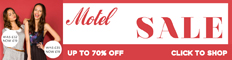 70% OFF Motel in their Summer Sale 2011