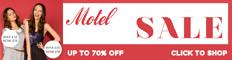 70% OFF Motel in their Summer Sale 2011