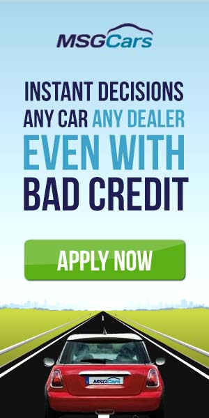 Instant Decisions bad credit car finance and lease MSG Cars