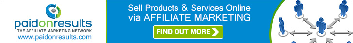 Affiliate Marketing by Paid On Results