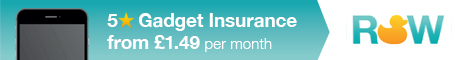 5 Star Home Gadget and Tablet Insurance from £1.49 per month - Mobile Phone, Tablet
