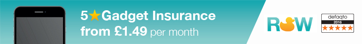 5 Star Defaqto Gadget and Mobile Phone Insurance from £1.49 per month - Award Winning