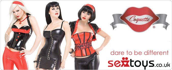 Find the exquisite Coquette range of tailored lingerie and clothing at sextoys.co.uk