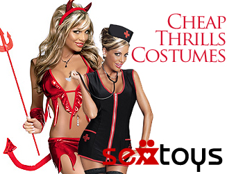 Thrilling temptations with the Cheap Thrills dressing up range!