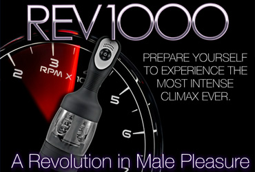 The REV 1000 - a Revolution in Male Pleasure!