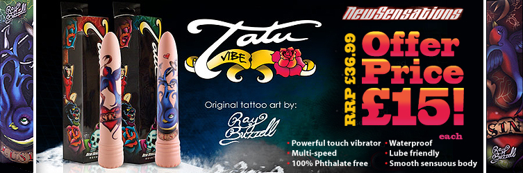 Get the artistic tattoo style of the Inked TATU Vibes for only £15 this week!