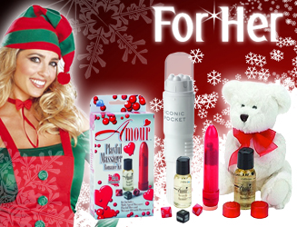Find a fantastic range of Christmas Gifts for Her at Sextoys.co.uk