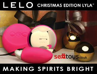 Get the Christmas Edition LELO Lyla in gorgeous gift box wrapping
