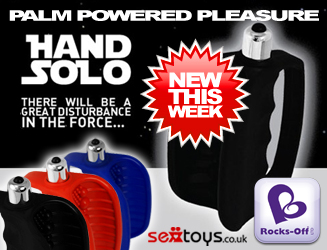 The brand new Hand Solo from Rocks Off is only £29.95 - get yours today!