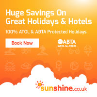 Cheap holidays at Sunshine