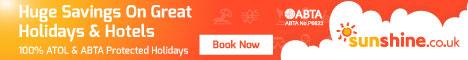 Sunshine - Bargain Holidays, Hotels & Flights