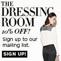 10% Off at The Dressing Room Shop Here