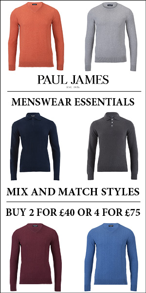 mens essentials cotton sweaters v neck crew neck polo neck