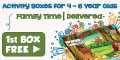 Weekend Box - A Fortnightly Box of Creative, Green and Healthy Activities for Children Aged 4-6 Delivered to Your Door